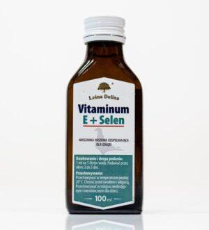 Witamina E+Selen 100 ml